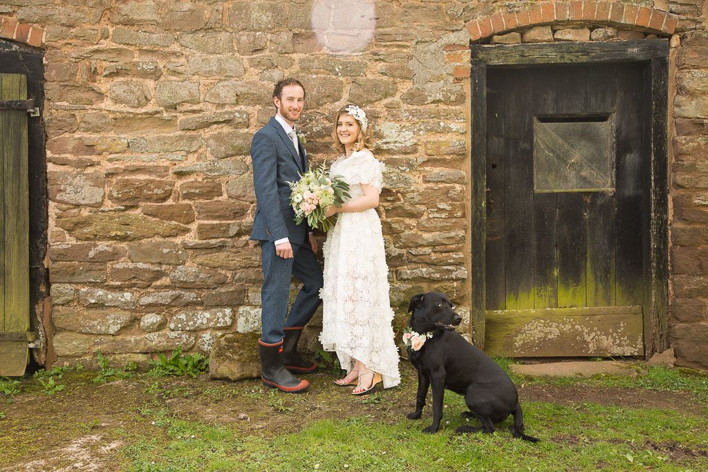Wedding Couple - Barn Photo