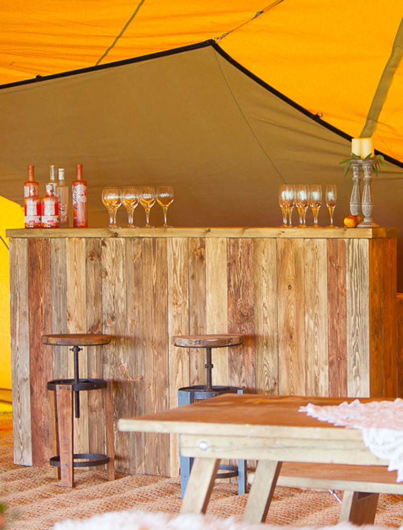 Wedding Bar - Tipi Wedding