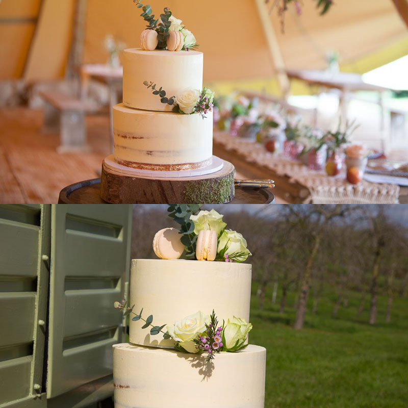 Wedding Cake by Home Farm Kitchen