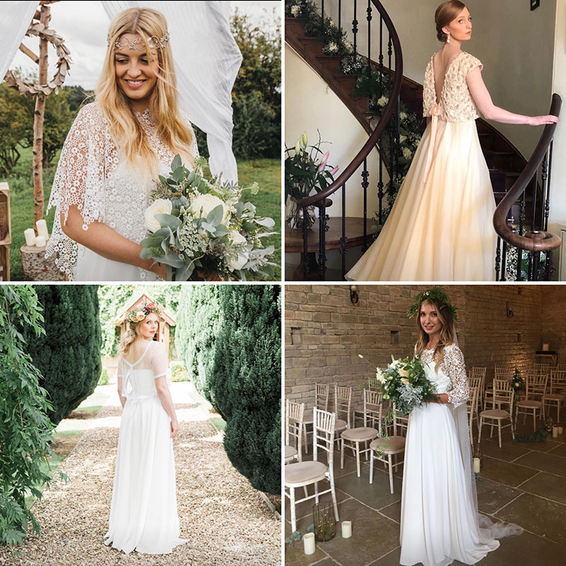 Boho Bride Gowns
